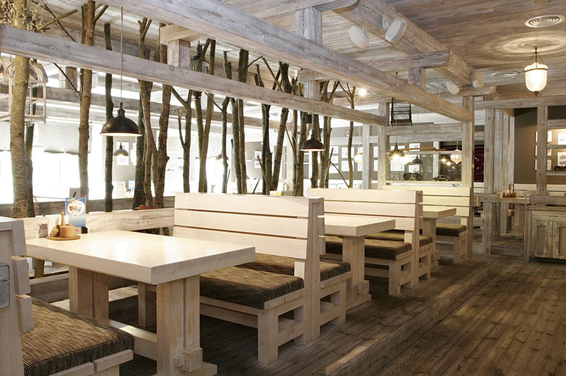 Фото деревянных кафе