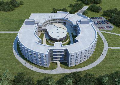 Reabilitacijos centro Vyturys rekonstrukcija Palanga L.Lazauskas, G.Pakšys, E.Juozapavičius 36